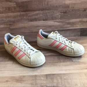 Adidas Superstar Pink Sneakers